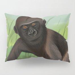 Gorilla in the Jungle Pillow Sham