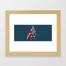 Marth(Smash) Framed Art Print