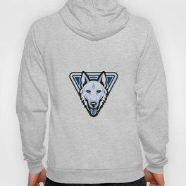 Police Dog Triangle Mascot Hoody