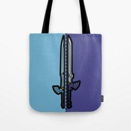 Old & New Master Sword Comparison Tote Bag