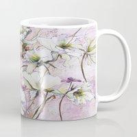 botanical Mugs featuring Botanical by Anna Maiko
