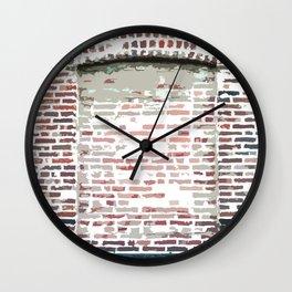 Brick Art Wall Clock