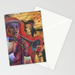 Trumpet of Peace Stationery Cards