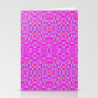 candy Stationery Cards featuring Candy Colored Pixels by 2sweet4words Designs