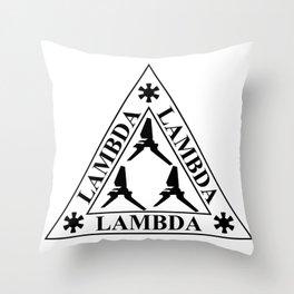 Lambda Lambda Lambda Class Shuttle Throw Pillow