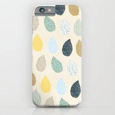 rain drops pattern iPhone 6s Slim Case
