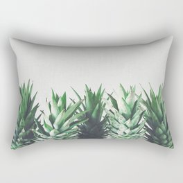 Pineapple Leaves Rectangular Pillow
