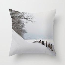 Snow Boutique Throw Pillow
