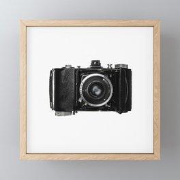 Old Retro Camera Framed Mini Art Print