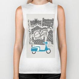 Brighton Cityscape Biker Tank