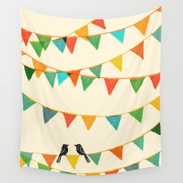 Carnival is coming to town Wall Tapestry