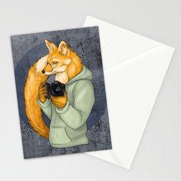 Photographer Fox Stationery Cards