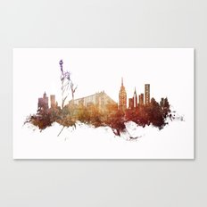 New York City - skyline Canvas Print