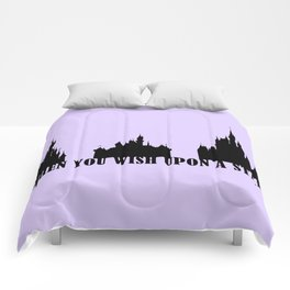 When You Wish Upon A Star Comforters