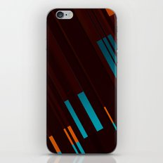 Canopus Blue Orange iPhone & iPod Skin