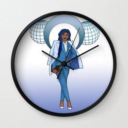 Sapphire (September) Wall Clock