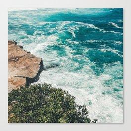 Bondi Cliff Cluster Canvas Print