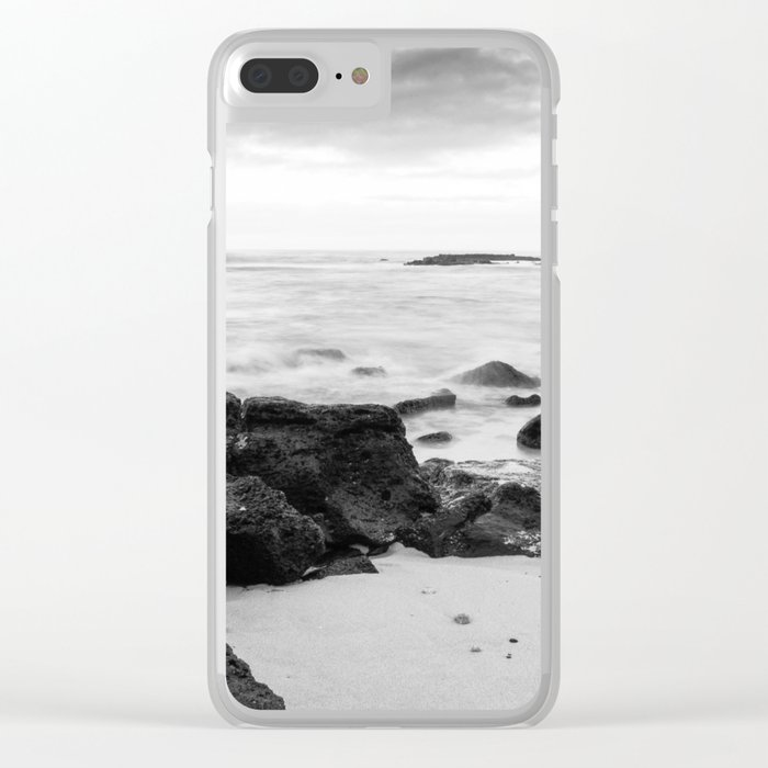 Dramatic coastline at Poipu beach in Kauai, Hawaii Clear iPhone Case
