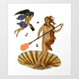 Gafferdite Art Print