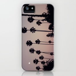 Hollywood Forever Cemetery Sunset  iPhone Case