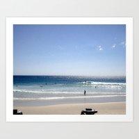 a day at the Beach 8 Art Print