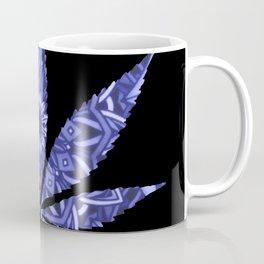 Weed : High Times Blue Floral Coffee Mug