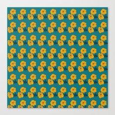 Marigold Repeat Canvas Print