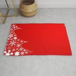 Red Christmas Rug
