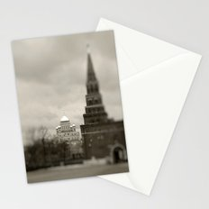 Cathedral view from Kremlin  Stationery Cards