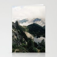 lake Stationery Cards featuring Eunice Lake by Kevin Russ