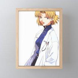 Ritsuko Akagi, Neon Genesis Evangelion Framed Mini Art Print