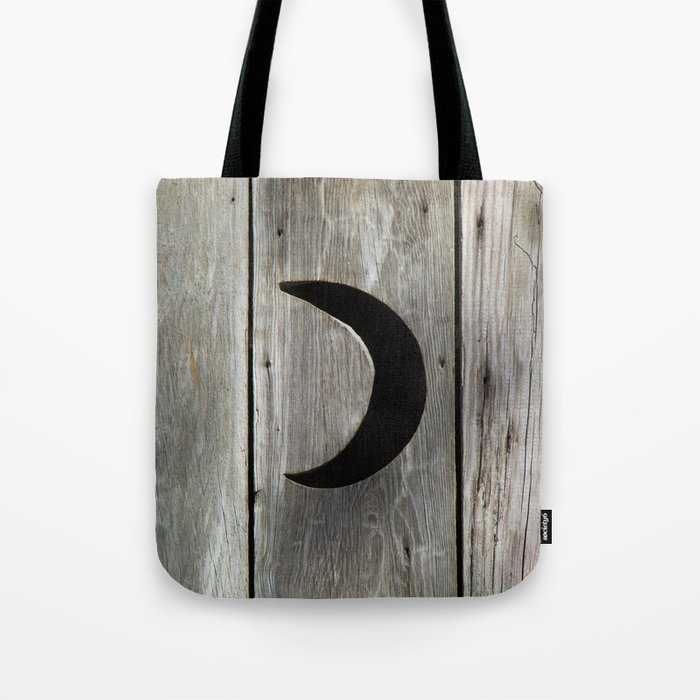Outhouse Moon Tote Bag By Tiffanydawnsmith Society6