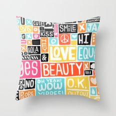 Build something good Throw Pillow