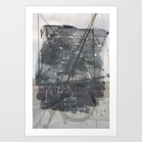 Brooklyn Bridge Abstraction I Art Print