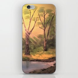 Sunny Forest iPhone Skin
