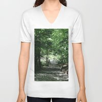 bridge V-neck T-shirts featuring Bridge by Alyson Cornman Photography