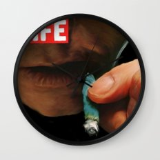 LIFE MAGAZINE: Marijuana Wall Clock