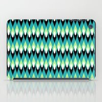 mid century modern iPad Cases featuring Mid-century Mod by Holly Helgeson