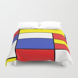 Abstract #758 Duvet Cover