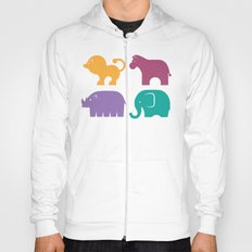 Fun at the Zoo: Pattern Hoody
