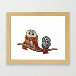 Owl Post Framed Art Print