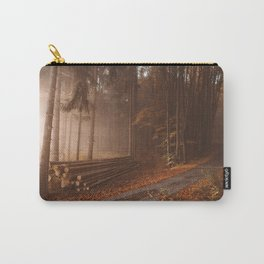 Orange beauty in common things Carry-All Pouch