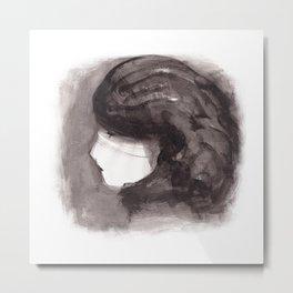 Girl ink 02 Metal Print