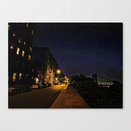 Starry Night in the Heights Canvas Print