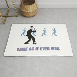 Talking Heads ~ Once In A Lifetime Walk Rug