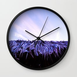 BUNGALOW ROOF Wall Clock