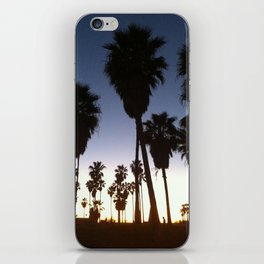 California Palm Trees at Sunset iPhone Skin
