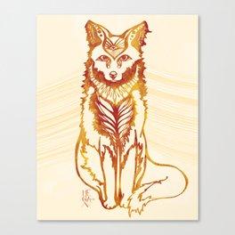 Ethereal Fox Canvas Print