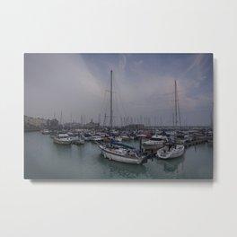 Ramsgate Harbour Metal Print