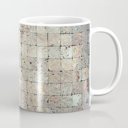 Square Stones Masonry Background Coffee Mug